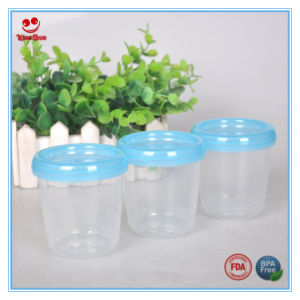 180ml Round Baby Food Container for Breastfeeding pictures & photos