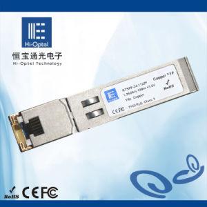 22. Copper Transciver SFP Optical Module 100m RJ45 10/100/1000Mbps Tx Disable pictures & photos
