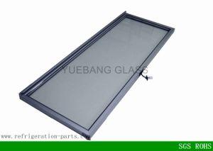 Vertical Refrigerator Swing Glass Door with Aluminum Frame