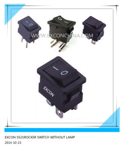Ss21 Rocker Switch Without Lamp Power Switch for Copier pictures & photos