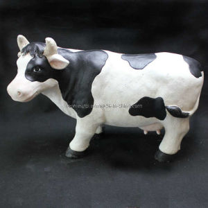 Polyresin Milch Cow Decoration (LE43-11A0003A-44.5)