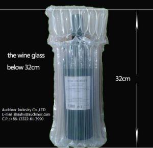 Clear Plastic Bubble Wine Bag Wine Bottle Bag pictures & photos
