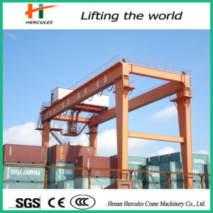Top Quality International Certificated Rtg Container Gantry Crane pictures & photos