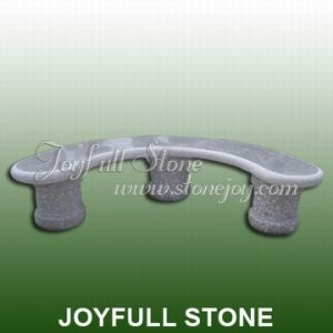 Curved Stone Bench (GT-102)