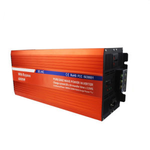 6000W CE Standard Pure Sine Wave Inverter with Charger pictures & photos