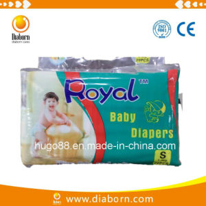 Breathable Soft Royal Baby Diaper for Mozambique Market pictures & photos