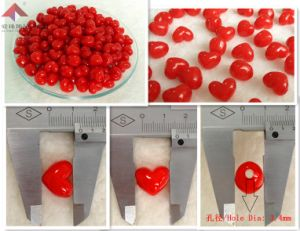 Fashion Jewelry, Jelly Beads (Peach heart)