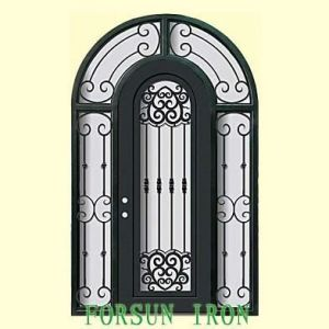 Artistic Entrance Door with Hand-Forged pictures & photos