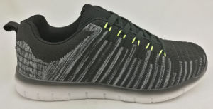 Casual Flyknit Running Sport Shoes for Male and Female pictures & photos