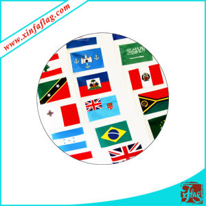 Polyester Hand Flags, Flag with Plastic Stick, Custom Hand Flag