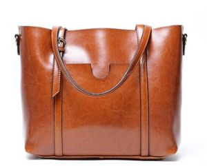 Women Soft Leather Handbags Tote Bags (LDO-01691) pictures & photos