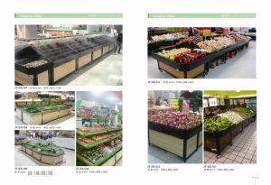 Competitive Price Fruits and Vegetable Rack Stand with High Quality pictures & photos