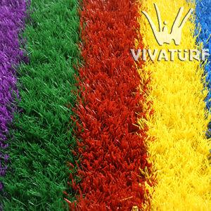 Multicolorful Artificial Grass