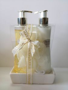 Sparkling Hand Soap& Hand Lotion Set