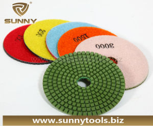 100mm Diamond Polishing Pads for Granite & Marble (SY-PL-T001) pictures & photos