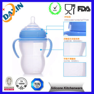 Customized Silicone Baby Bottle for Promotional Gift pictures & photos