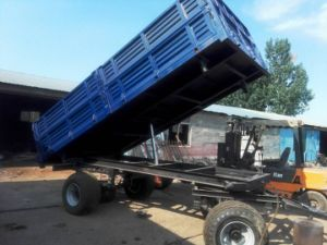 China Farm Dump Trailers for Cultivators for Sale pictures & photos