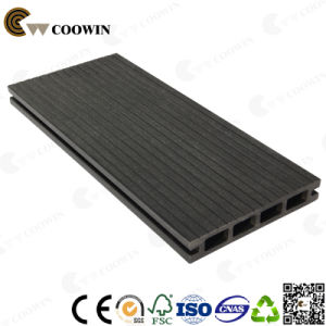 Tw-02b Thick Groove Outdoor Balcony Black WPC Decking pictures & photos