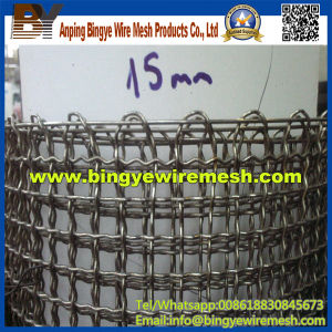 15mm Aperture Stainless Steel Crimped Wire Mesh pictures & photos
