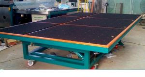 Manual Glass Cutting and Breaking Table with Air Float and Tilting pictures & photos
