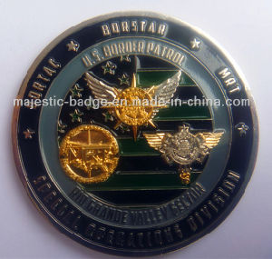 Customized Zinc Die Cast Challenge Coin pictures & photos