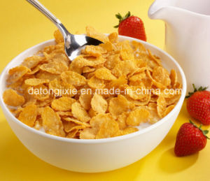 Corn Flakes Double Screw Extruded Snacks Machine pictures & photos