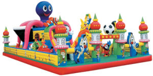 2013 Hot-Selling Whimsical Castle Theme Jumping Castles Inflatable Water Slide pictures & photos