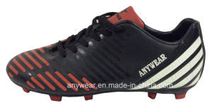 Soccer Football Boots with TPU Outsole for Men Shoes (815-1510) pictures & photos