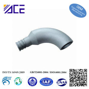 Sand-Casting Aluminum Elbow for Fire Equipment pictures & photos