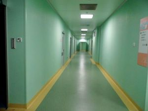 Hospital Wall Protection PVC Rigid Sheet pictures & photos