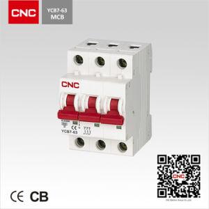 Ycb7 10ka 3p MCB (C7 Series Circuit Breaker) pictures & photos