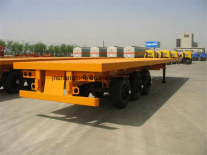 Load 30t Three Axles 20 Feet Container Semi Trailer pictures & photos