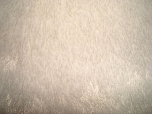 Bleached White Plush Fabric pictures & photos