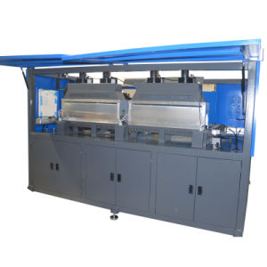 Full Automatic 2 Cavity Pure Water Bottle Blow Molding Machine pictures & photos