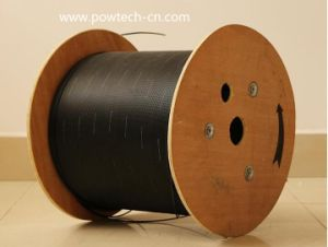 ADSS All Dielectric Self Support Aramid Yarn 100m Span Single Mode Optical Outdoor Fiber Optic Cable pictures & photos