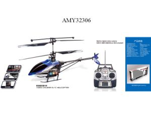 R/C 4 Channel Helicopter With Camera (AMY32306)