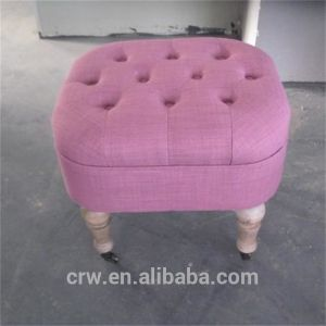 Morden Fabric Covered Ottoman pictures & photos