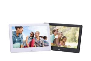 Digital Photo Frame 10 Inch HD TFT-LCD Porta Retrato Electronic Alarm Clock MP3/4 Video Movie Player Elektronischer Bilderrahmen (TF-6016) pictures & photos