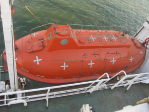 5m Totally Enclosed Lifeboat / Rescue Boat / Marine Lifesaving Boat