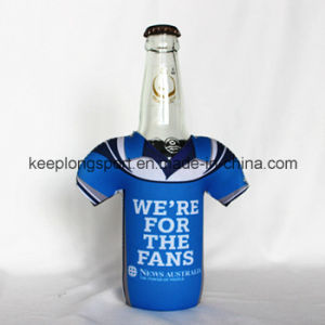 New Design Customized Neoprene Bottle Holder with The T-Shirt Shape pictures & photos