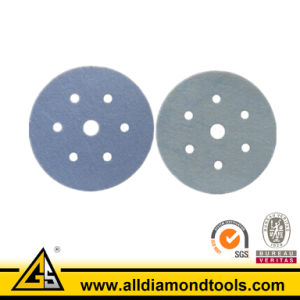 Silicon Carbide Abrasive Hook & Loop Waterproof Sanding Paper pictures & photos
