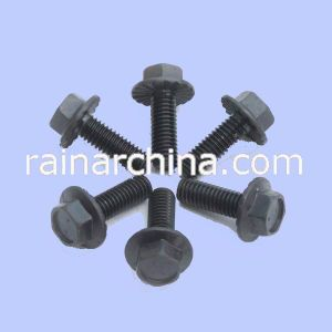Black 8.8grade Hex Head Flange Bolt