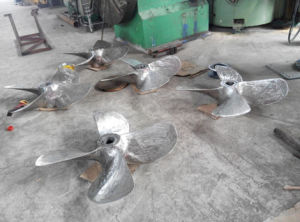 Stainless Steel Propeller Manufacture