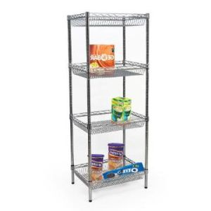 Adjustable DIY Chrome Metal Deepened Wire Basket Storage Rack (BK9045180A4C) pictures & photos