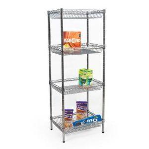 Adjustable DIY Chrome Metal Deepened Wire Basket Storage Rack (BK9045180A4C) pictures & photos