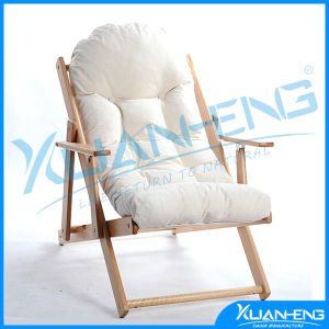 Outdoor Leeward Islands Natural Teak Lounge Chair with Sunbrella Cushion pictures & photos