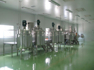 Industrial Vacuum High Speed High Shear Emulsifier Mixing Tank pictures & photos