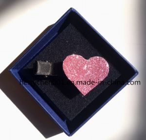 Brillant Heart Shape Girls Hairpin, No. 17004 pictures & photos