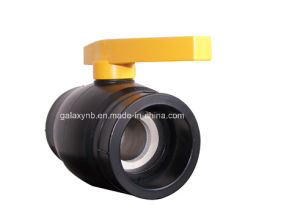 High Quality PE Pipe Fittings Copper Ball Valve pictures & photos