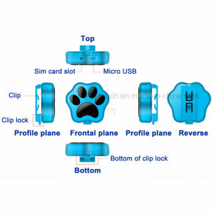 2017 New Developed Mini Pets GPS Tracker with Collar pictures & photos